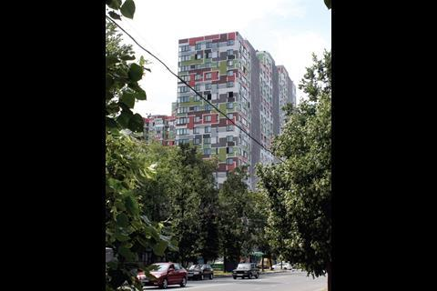Buromoscow's Glagoleva housing development in Moscow